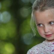 Blond little girl