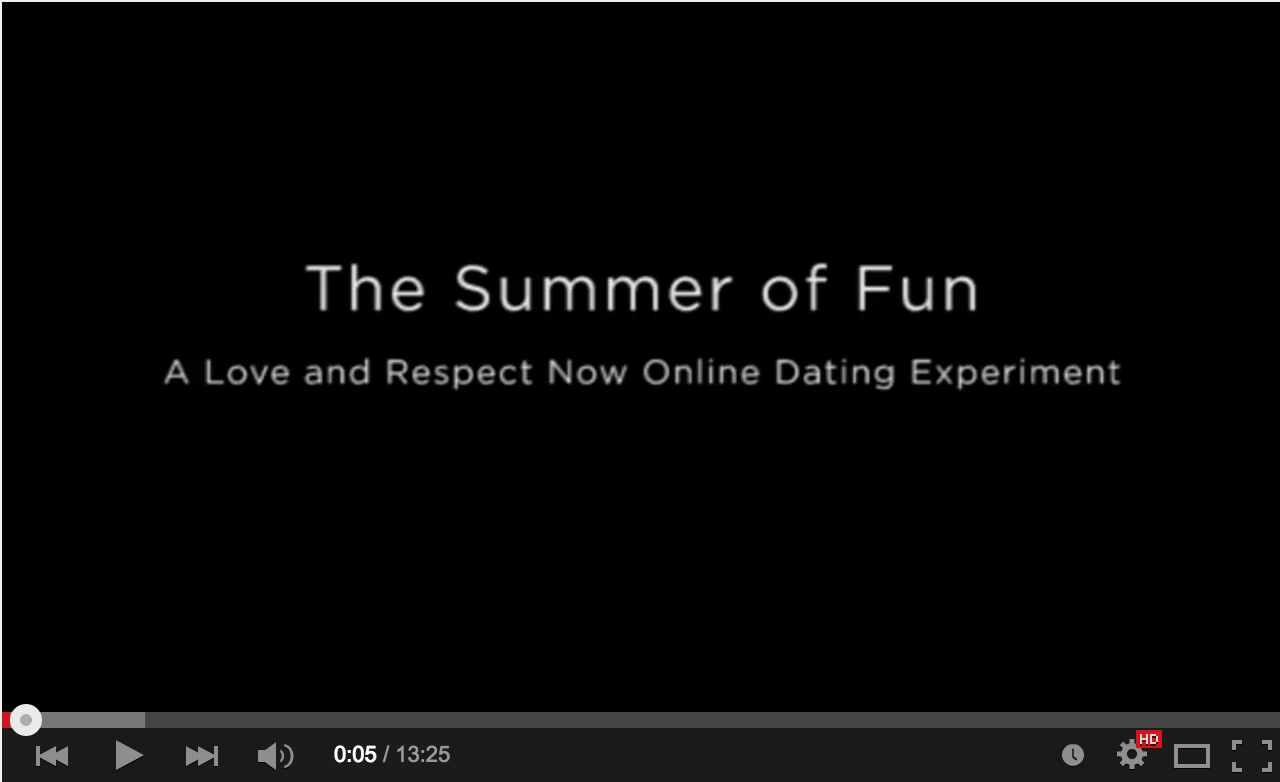 Dating respect